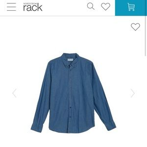 Nordstrom rack denim dress shirt
